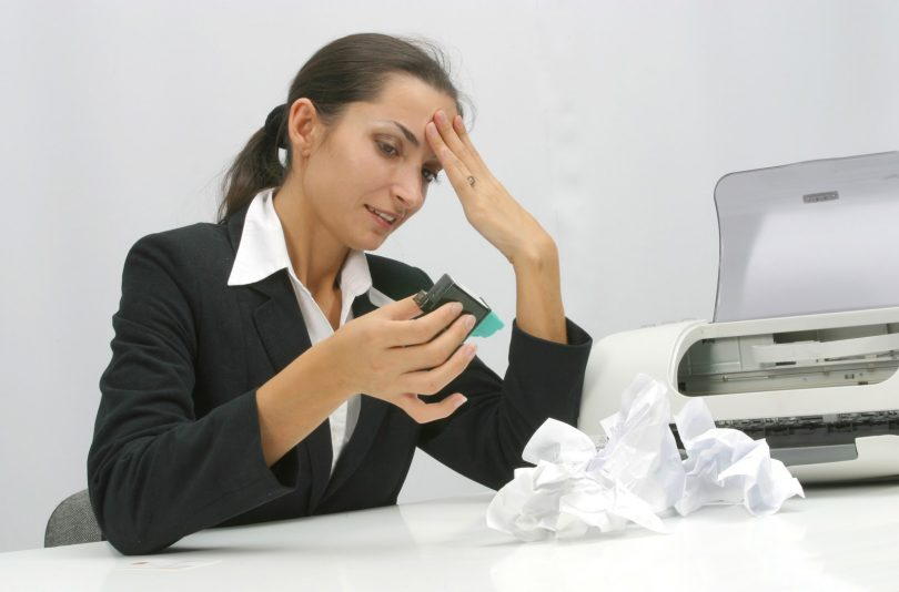 Problém s tiskárnou, online poradna